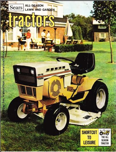 1974 Sears Garden Tractor : Etc
