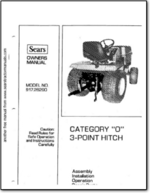 Related image with Cat 0 3 Point Hitch